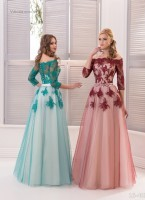 Вечернее платья 16-403