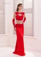 Вечернее платья 16-413
