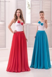 Вечернее платья 16-447