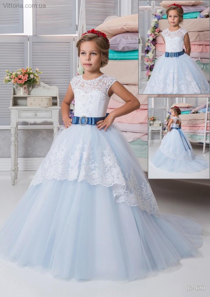 84856b11200 Детское платье 17-650