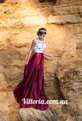 Вечернее платье 17-838