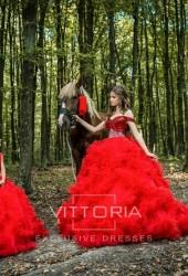Вечернее платье V002