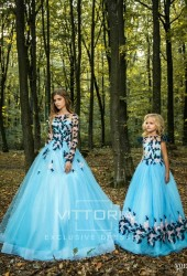 Вечернее платье V012