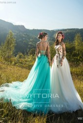 Вечернее платье V017