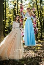 Вечернее платье V038