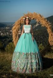 Вечернее платье V043