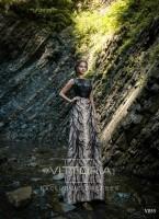 Вечернее платье V055