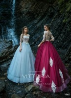 Вечернее платье V062
