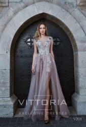 Вечернее платье V201