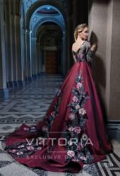Вечернее платье V210