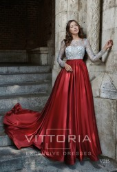 Вечернее платье V215
