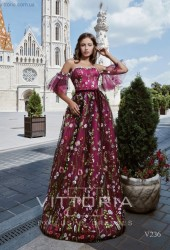 Вечернее платье V236