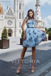 Вечернее платье V239