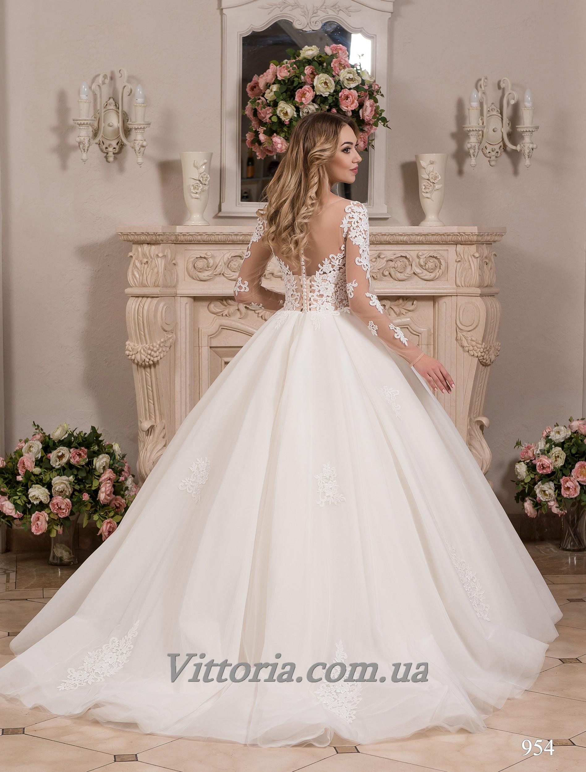 Свадебное платье Модель 17-954