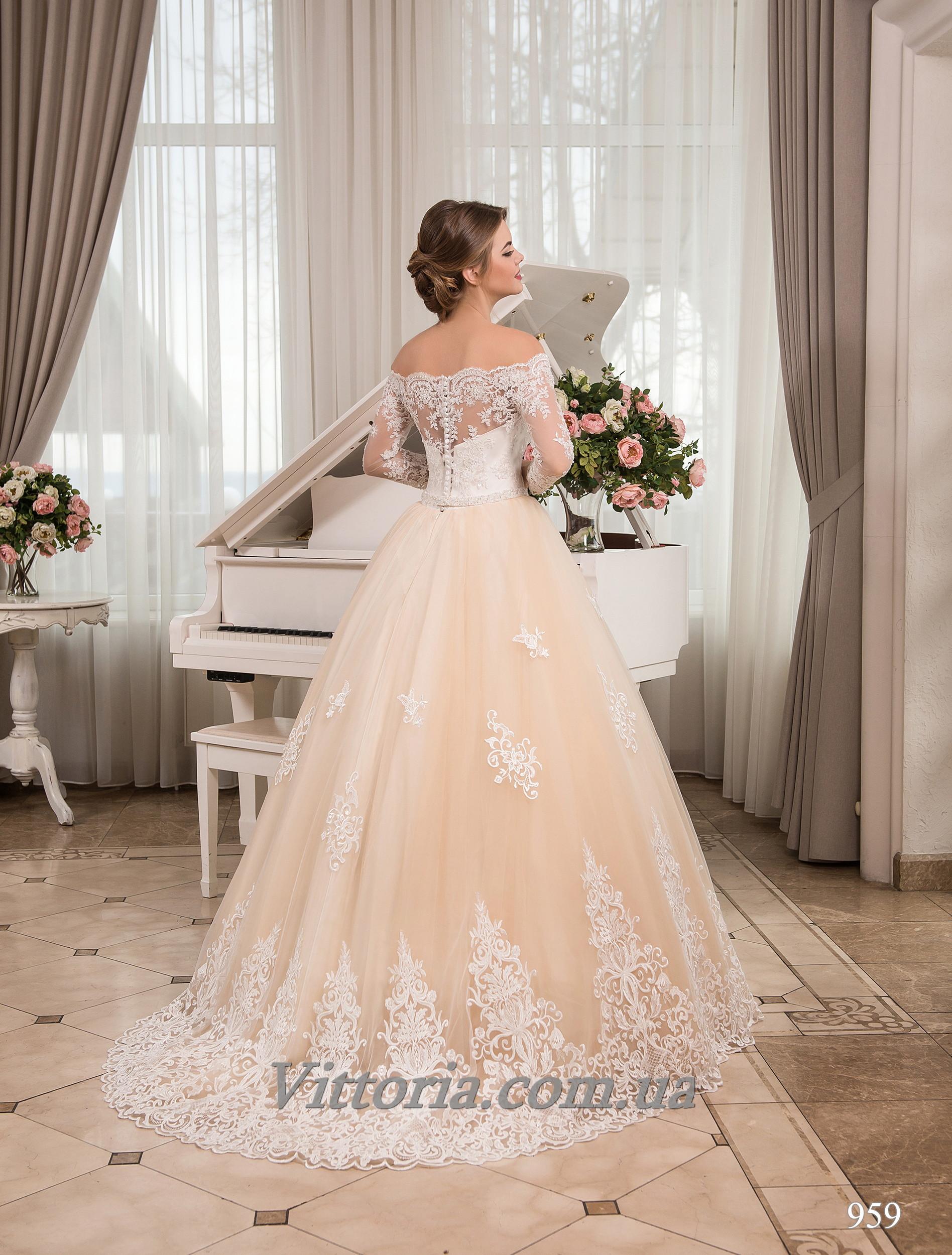 Свадебное платье Модель 17-959