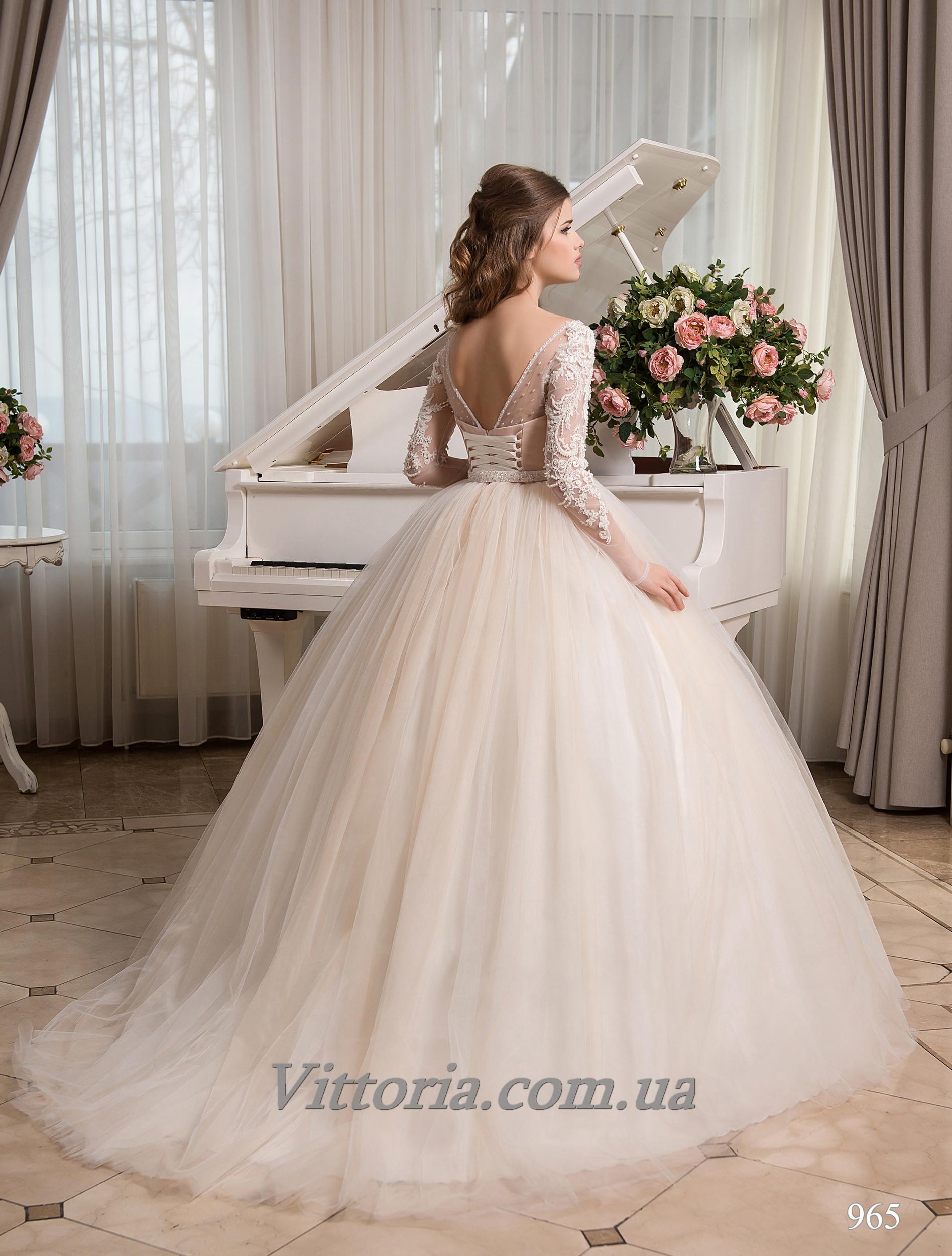 Свадебное платье Модель 17-965
