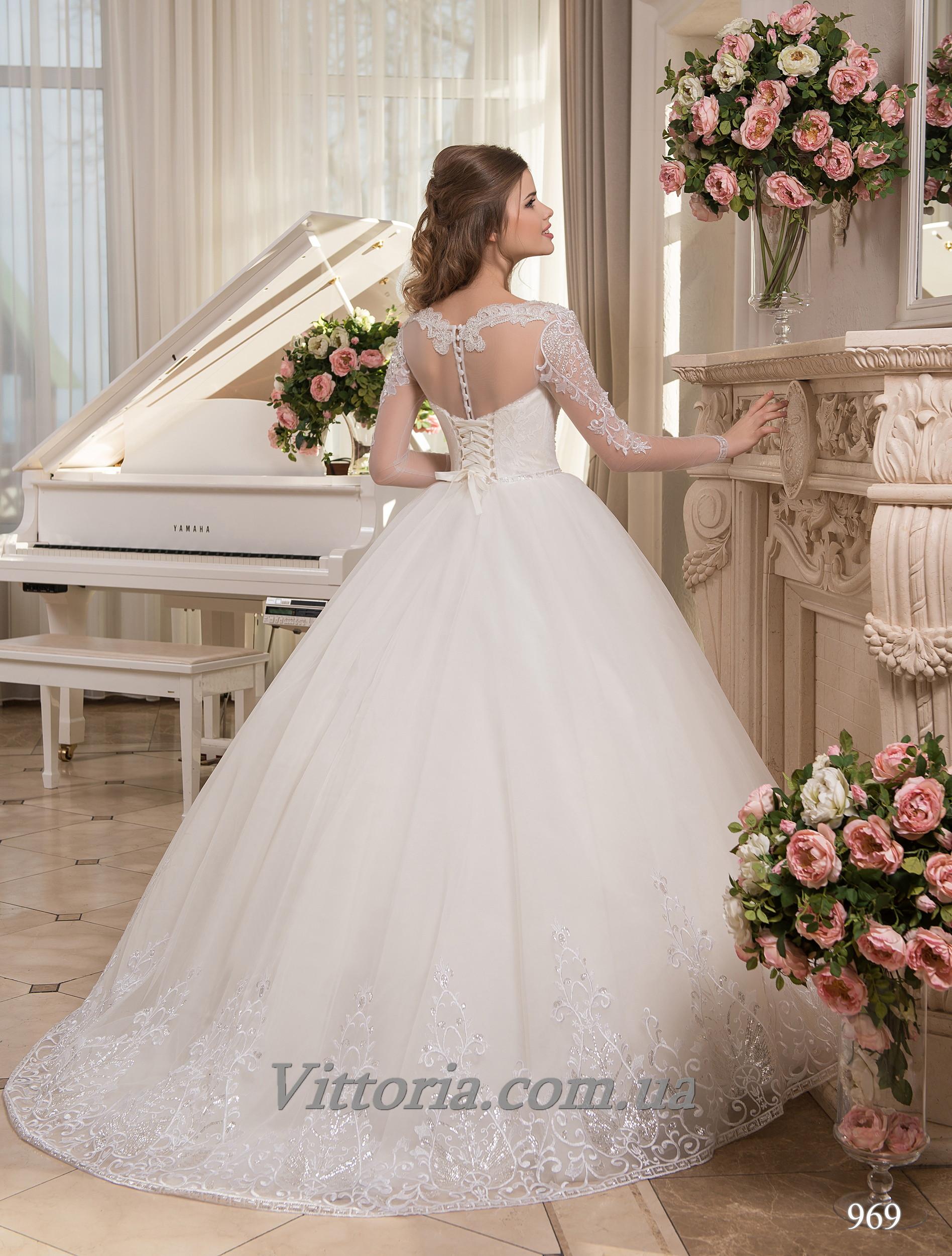 Свадебное платье Модель 17-969