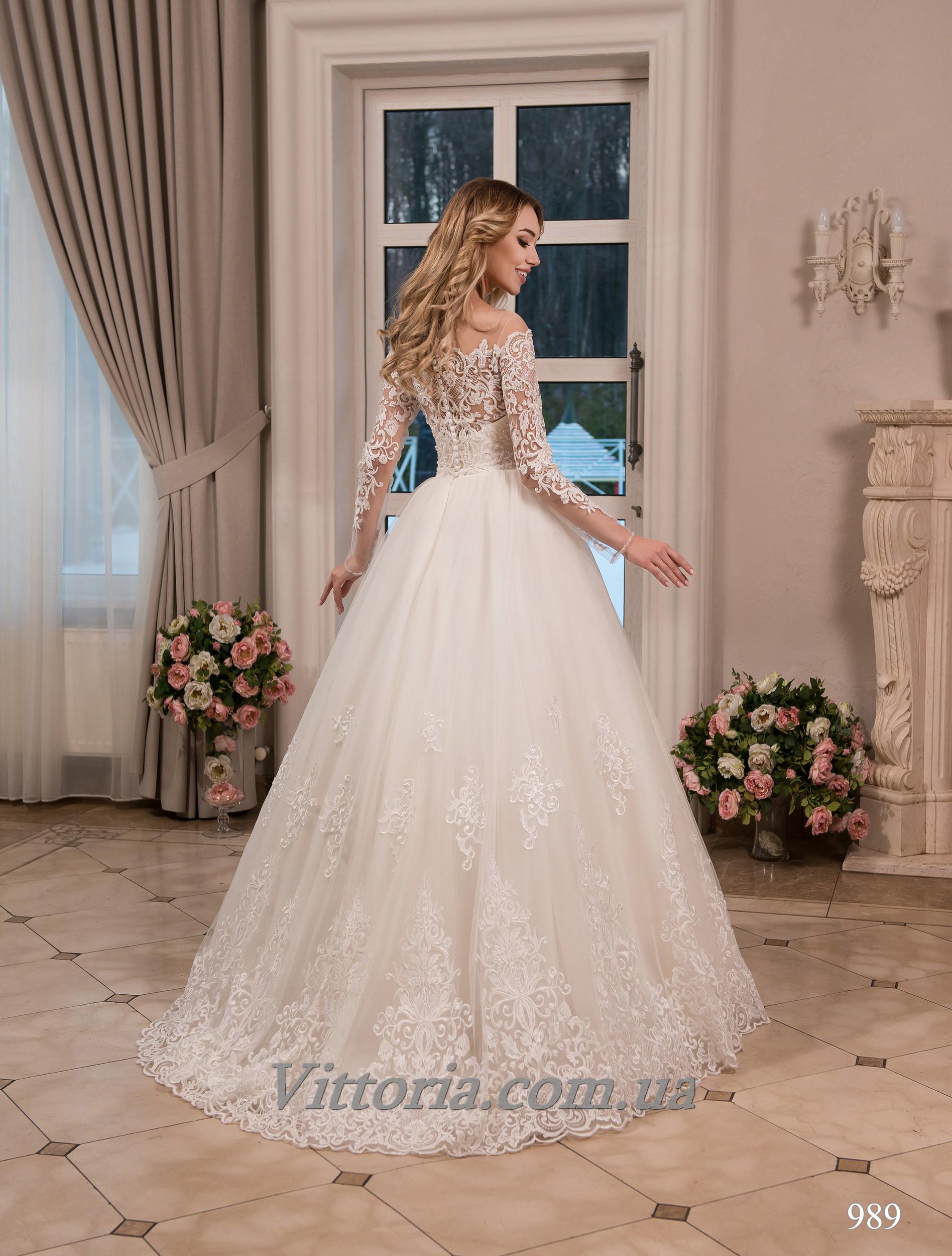 Свадебное платье Модель 17-989