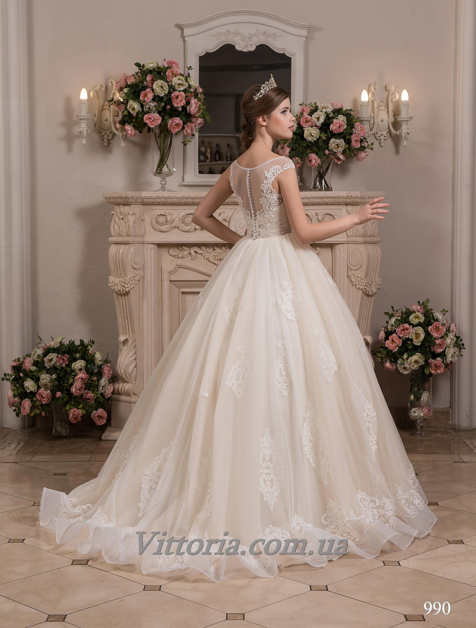 Свадебное платье Модель 17-990