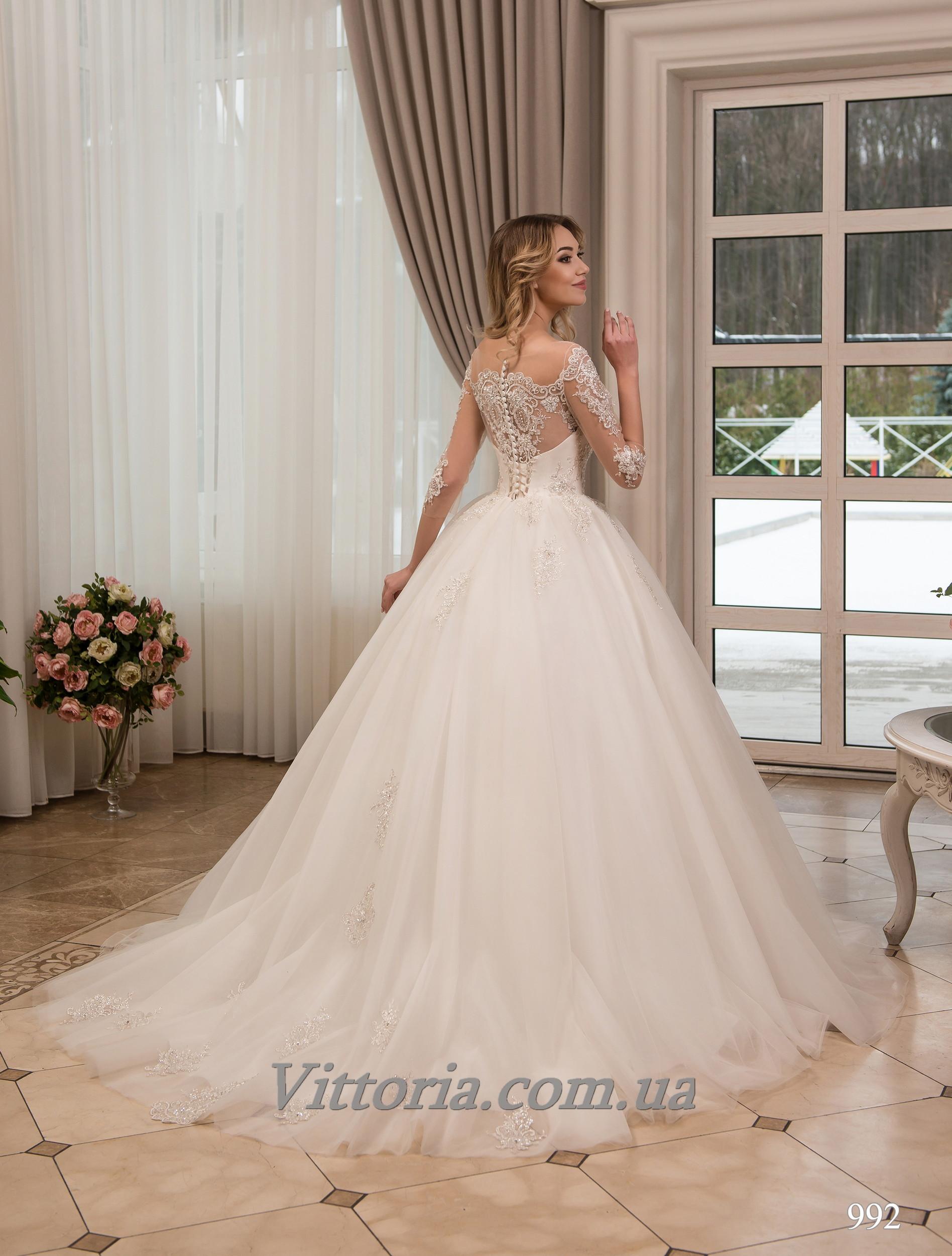 Свадебное платье Модель 17-992