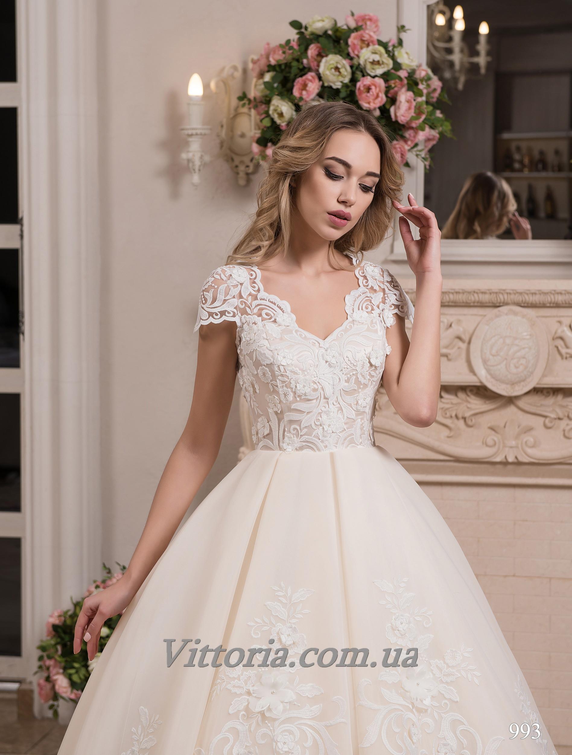 Свадебное платье Модель 17-993