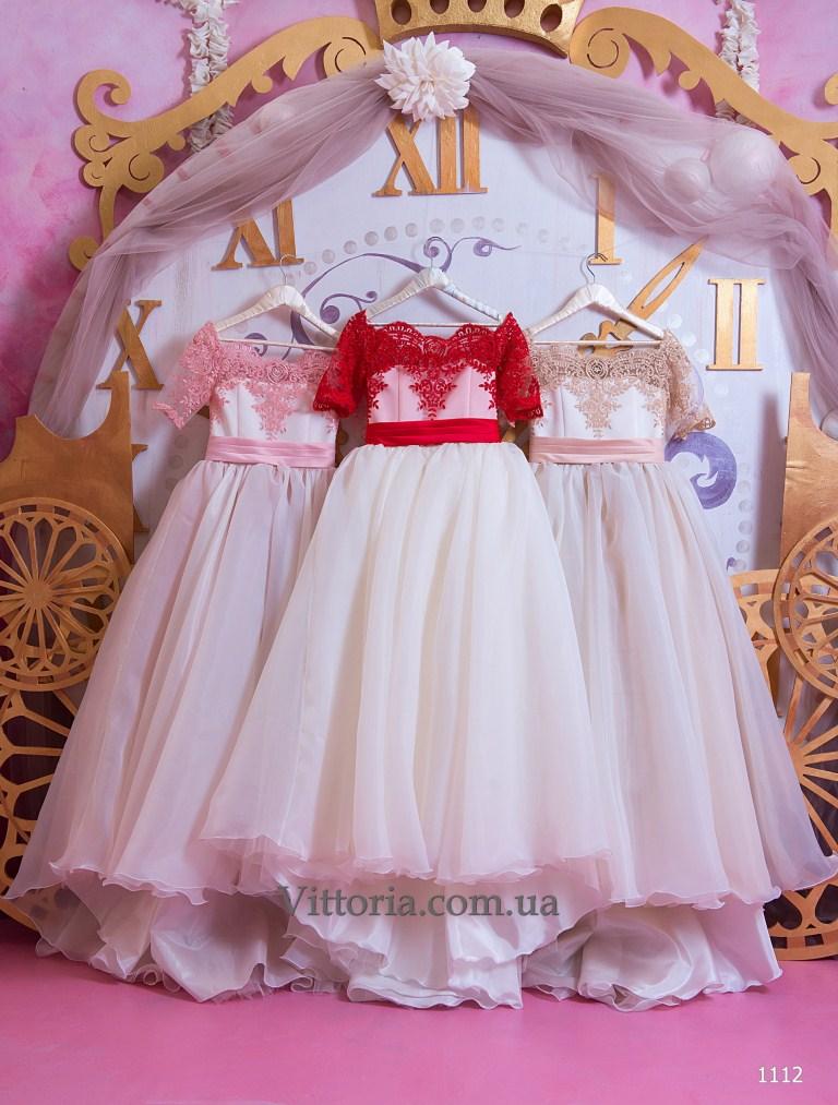 Детское платье 1112