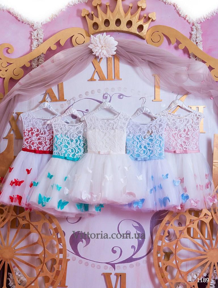 Детское платье 1189