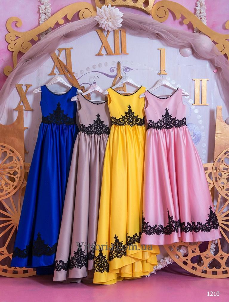 Детское платье 1210