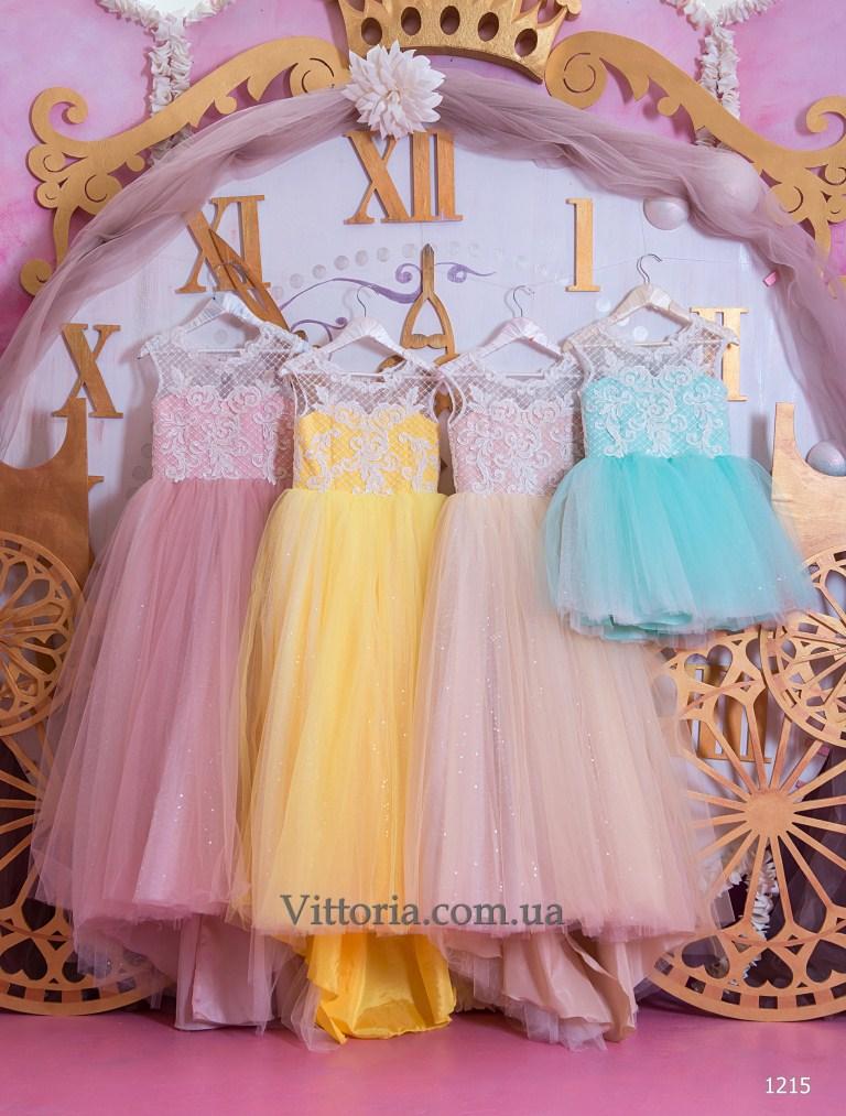 Детское платье 1215