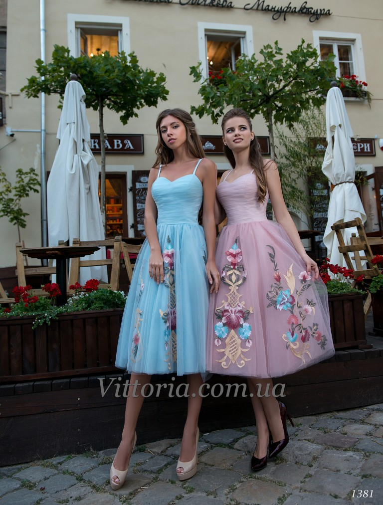 Вечернее платье 1381