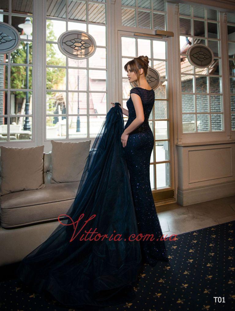 Вечернее платье T01