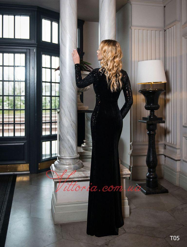 Вечернее платье T05