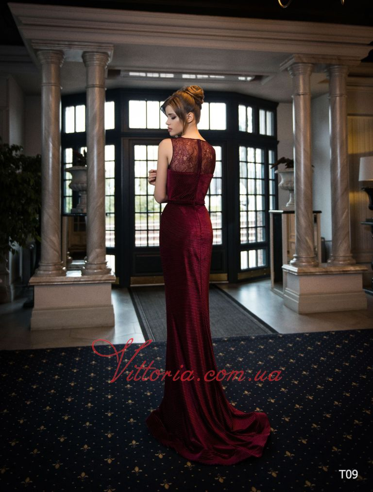 Вечернее платье T09