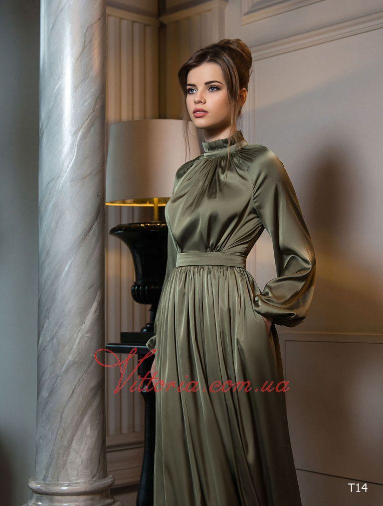 Вечернее платье T14