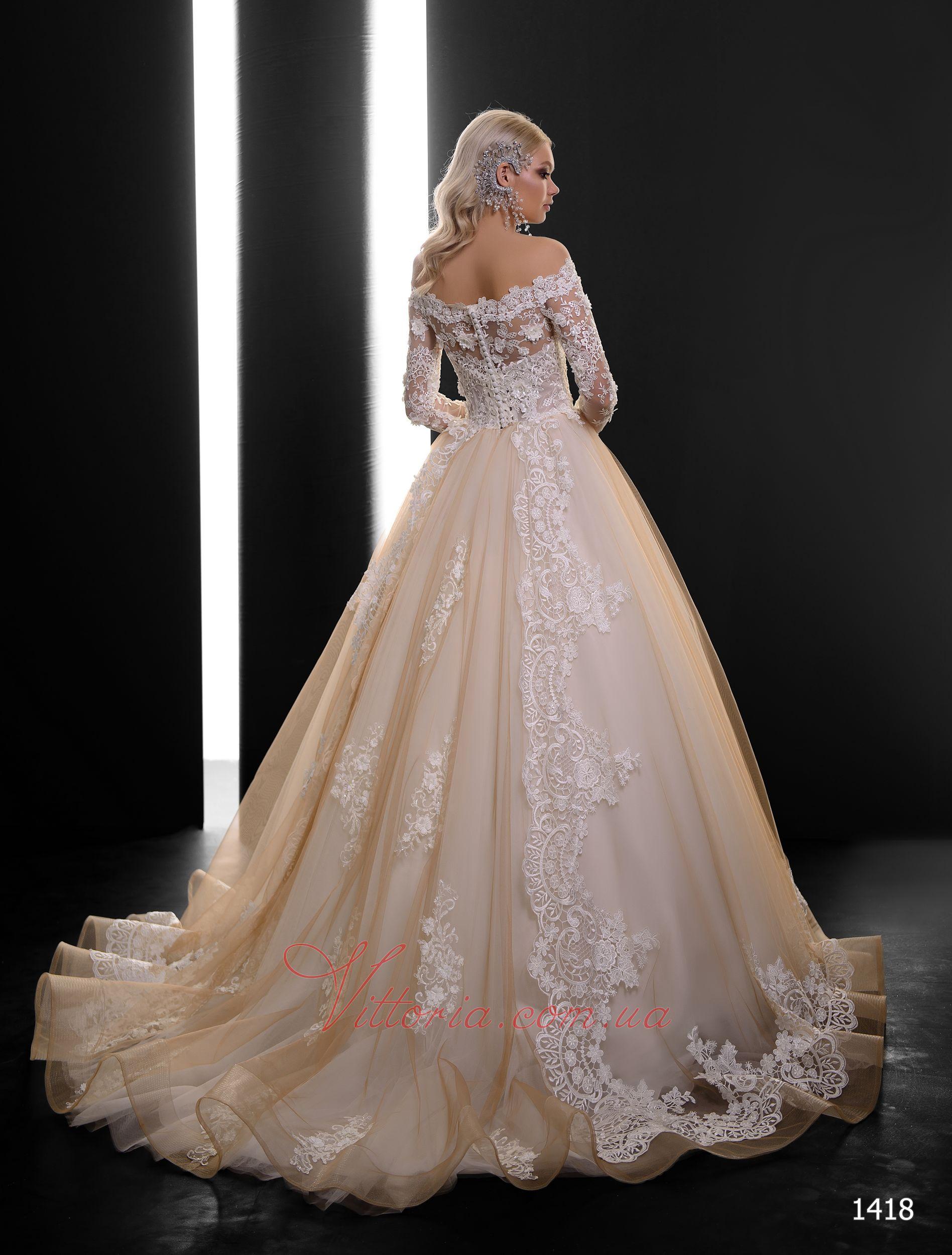 Свадебное платье Модель 1418