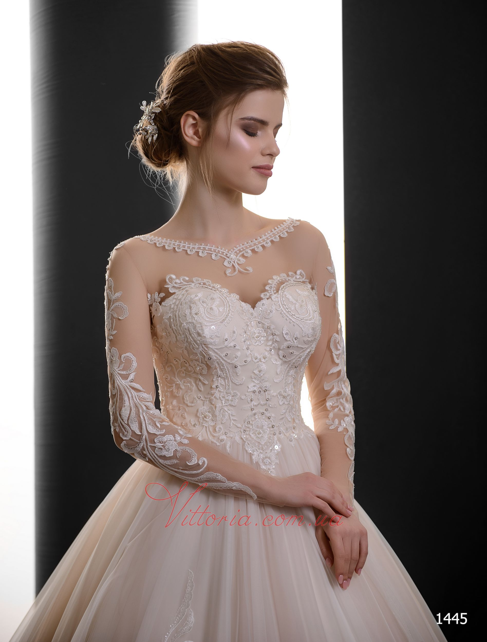 Свадебное платье Модель 1445