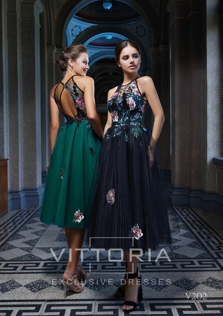 Вечернее платье V202