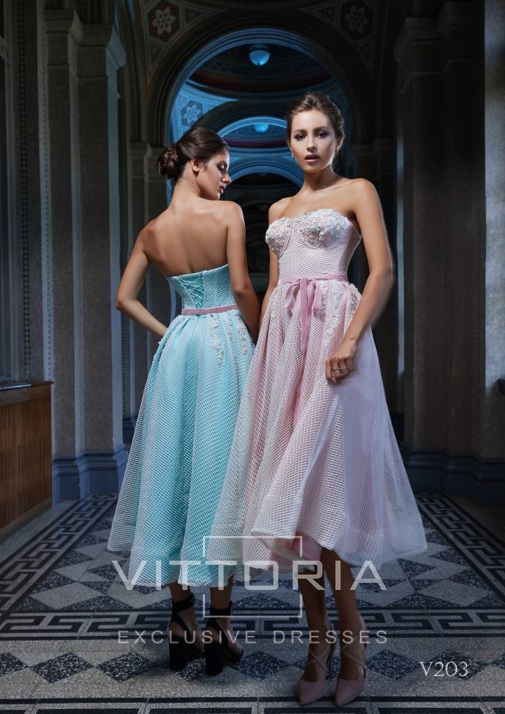 Вечернее платье V203