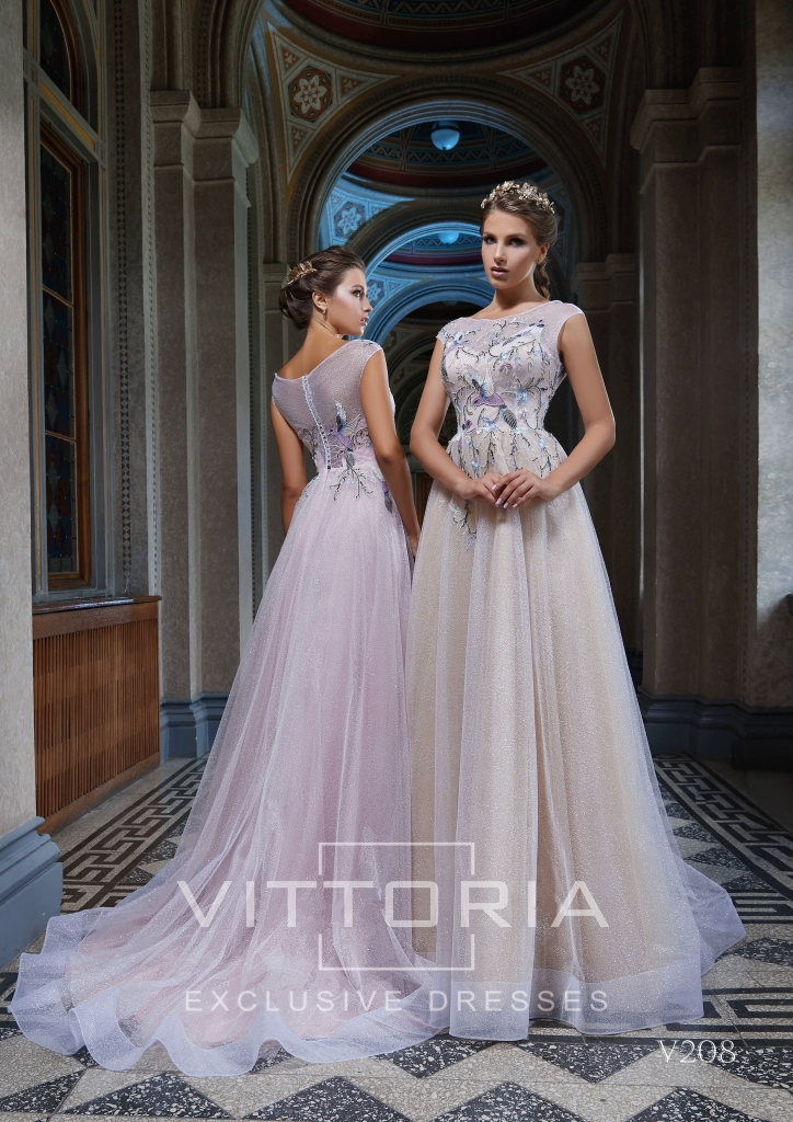 Вечернее платье V208