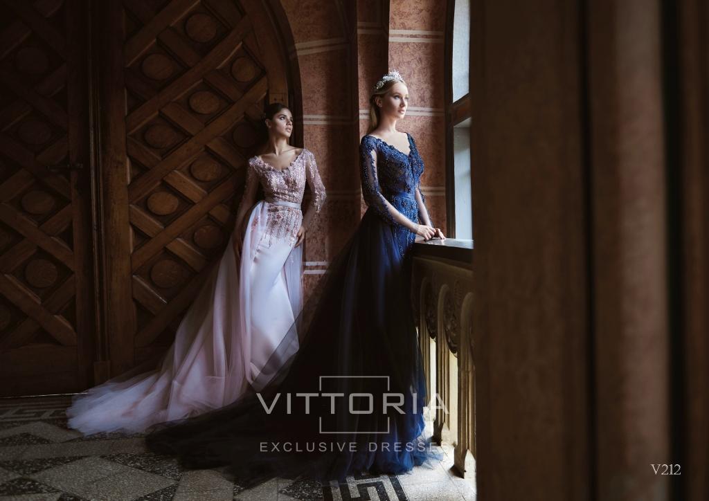 Вечернее платье V212