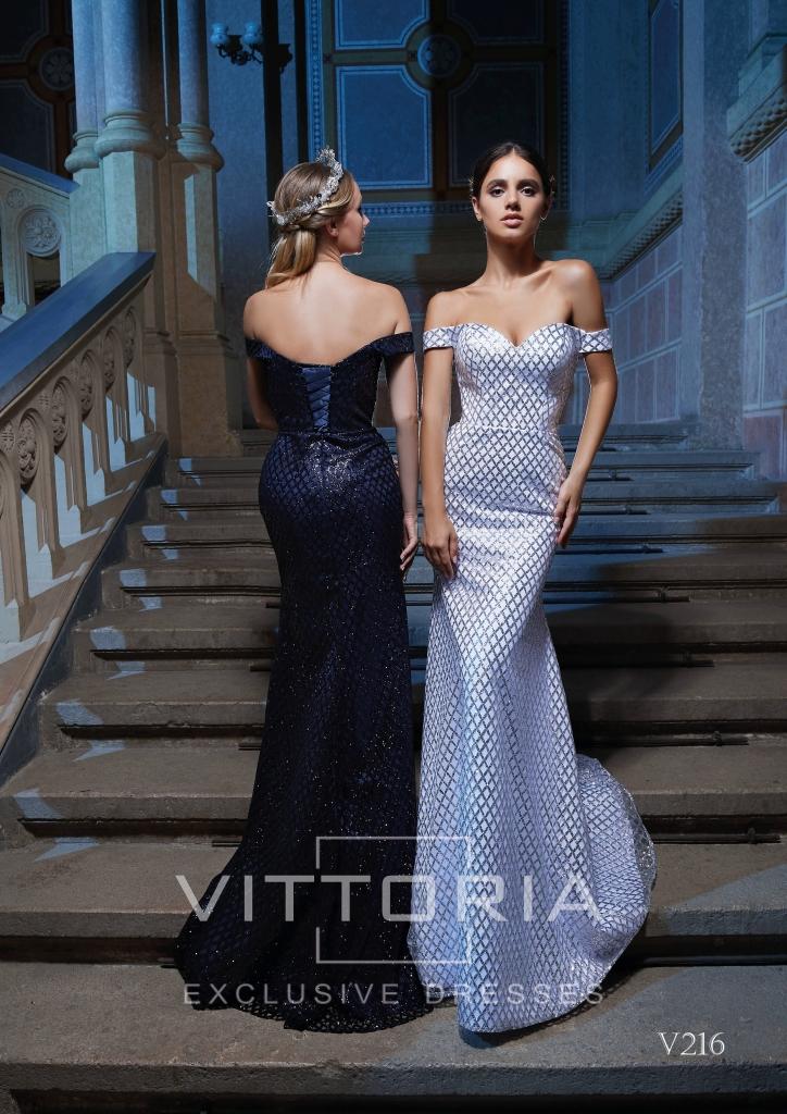 Вечернее платье V216