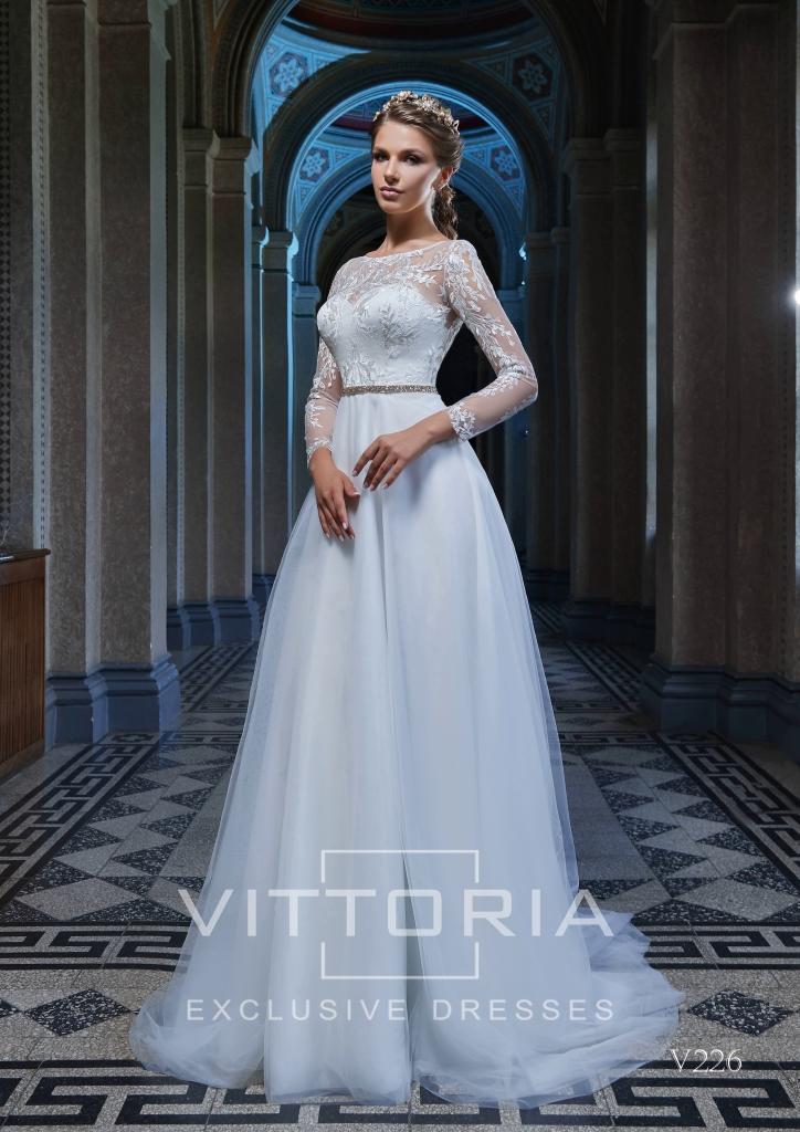Вечернее платье V226