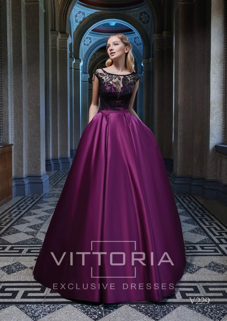 Вечернее платье V229