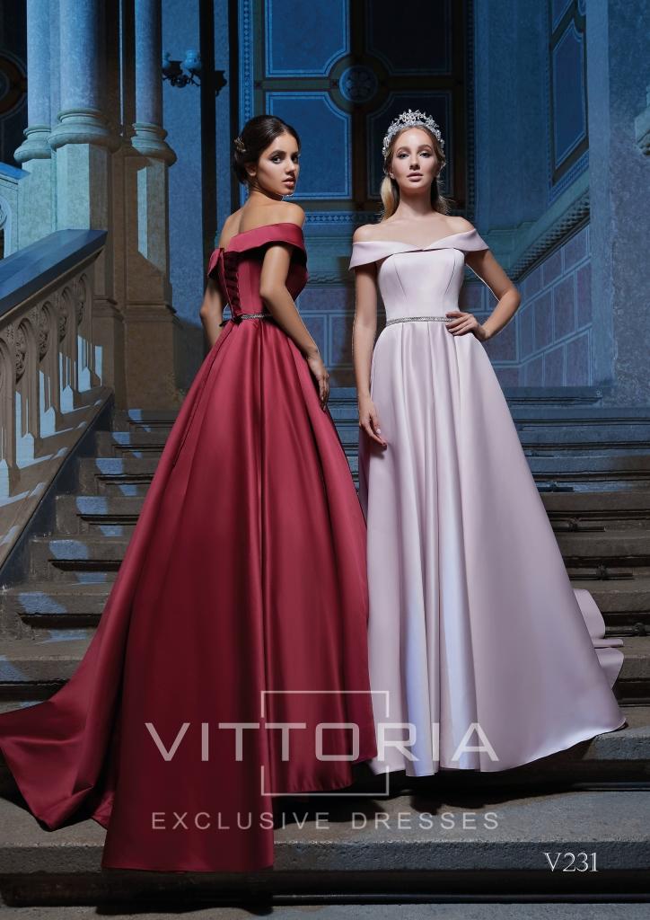 Вечернее платье V231