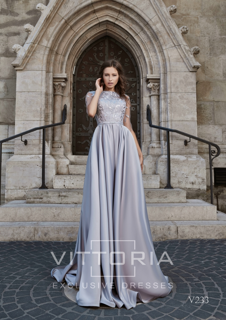 Вечернее платье V233