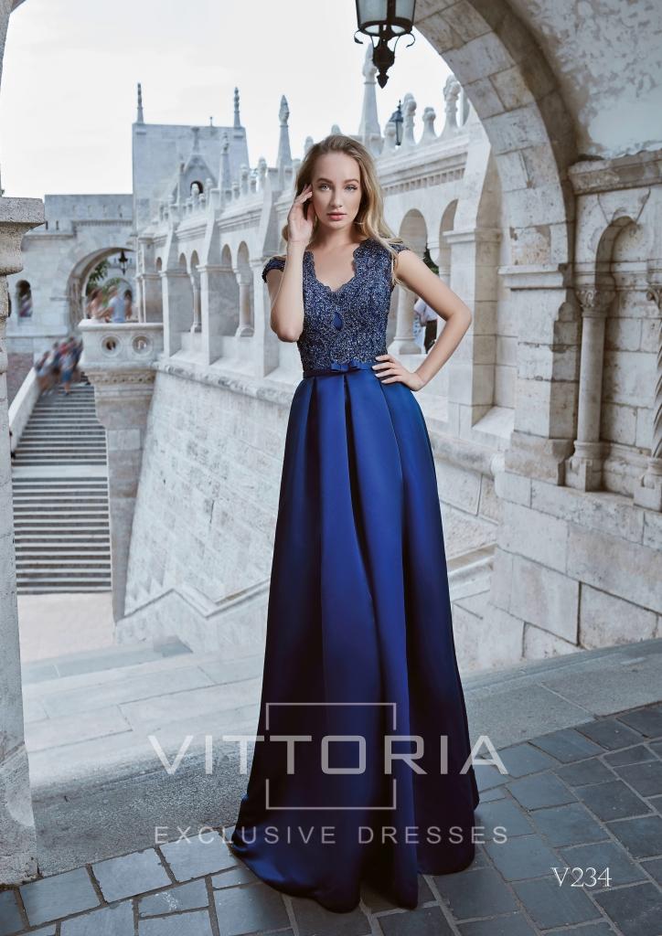 Вечернее платье V234