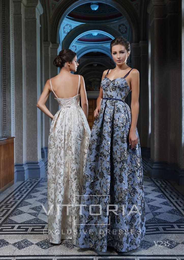 Вечернее платье V235