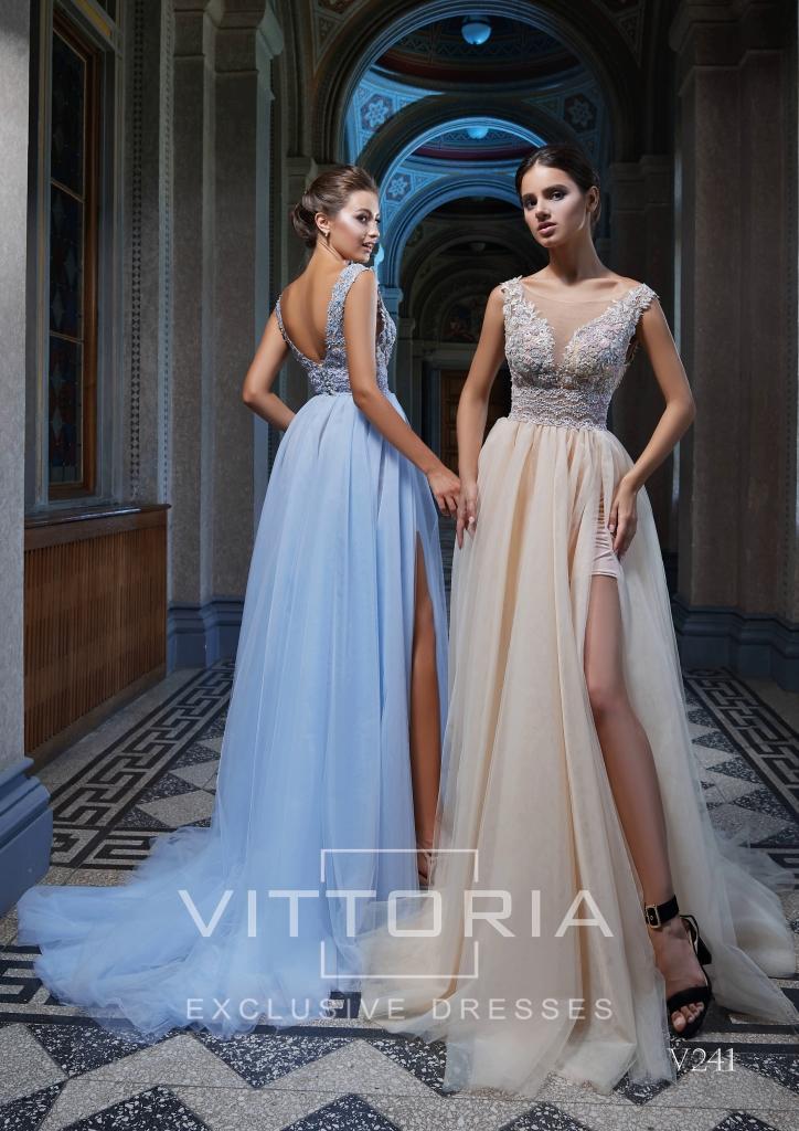 Вечернее платье V241