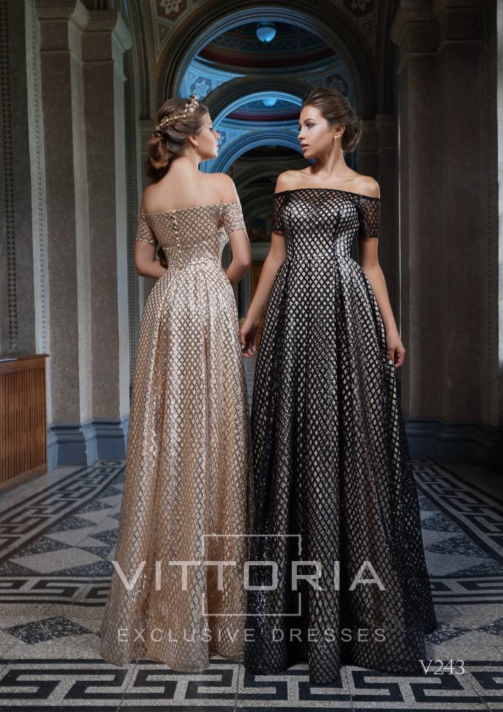 Вечернее платье V243