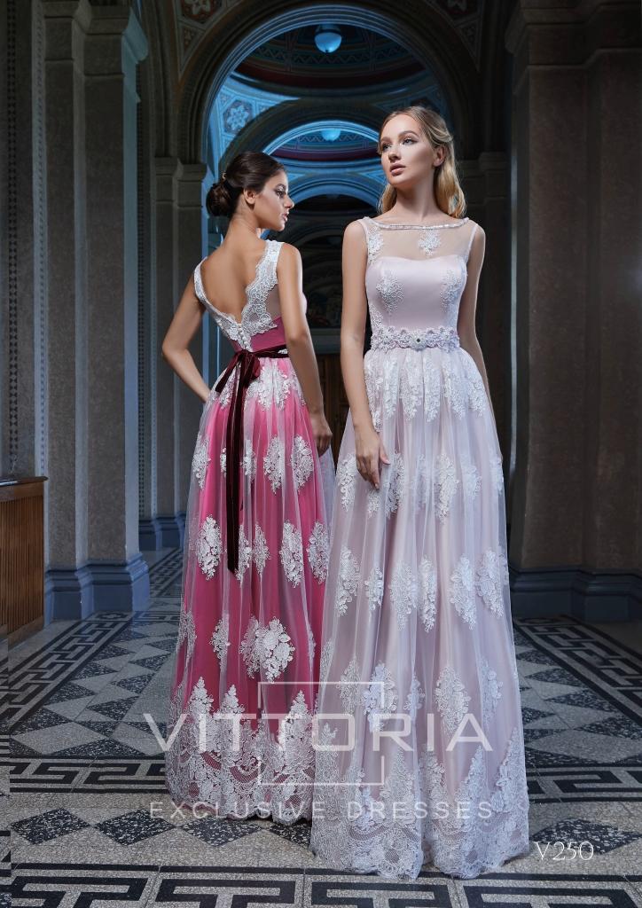 Вечернее платье V250